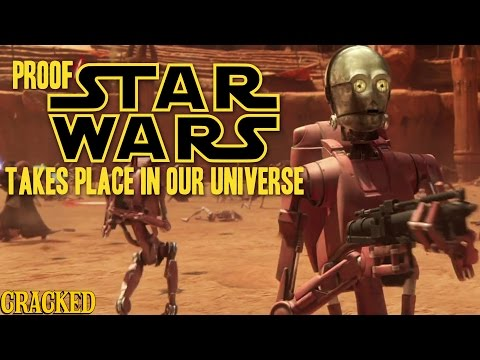 Proof Star Wars Takes Place In Our Universe