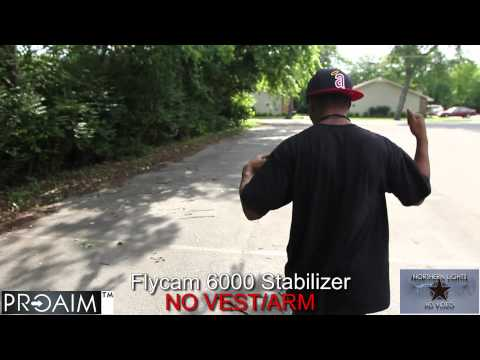 Flycam 6000 vs GlideCam HD 1000 w/ Canon 7d 16-35mm Lens HD AXTION BRANDNEW