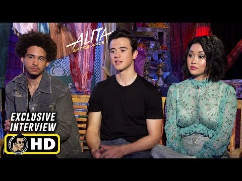 Keanna Johnson, Lana Condor & Jorge Lendeborg Jr. Interview for Alita: Battle Angel