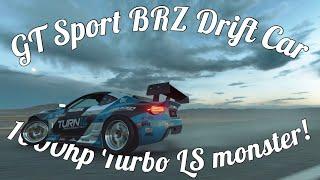 GT Sport Subaru Falken Tire BRZ! 1,000hp V8!