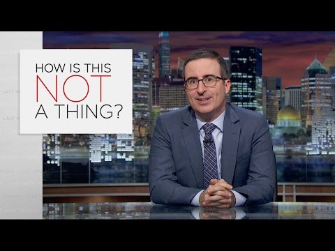 John Oliver Would Like Someone To Invent These Things