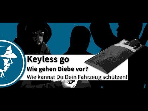 Keyless go - Wie funktioniert´s? - Wie gehen Diebe vor? | Keyless go Schutz | Detektei Taute®