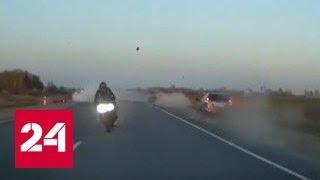 Под Ульяновском гонка на мотоциклах закончилась гибелью священника и его брата