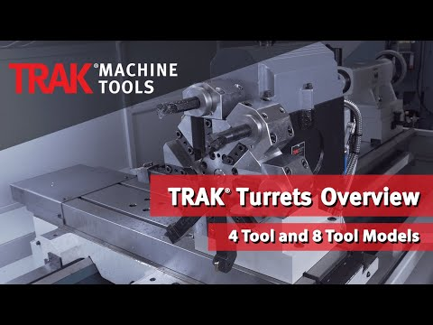 TRAK 4 and 8 Station Turrets Overview