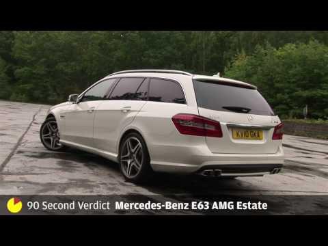 Mercedes-Benz E63 AMG - 90sec review by Autocar.co.uk