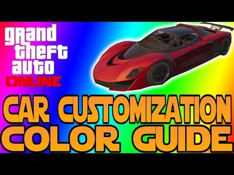 GTA Online Tutorial - Matte & Pearlescent Crew Color [PS4