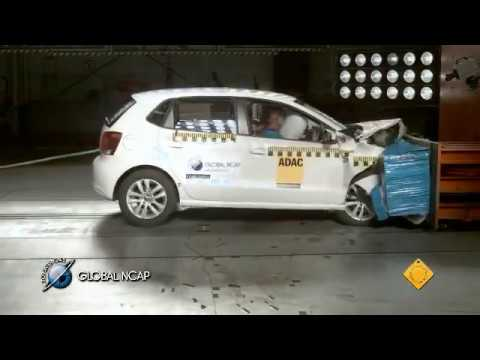 VW Polo con doble airbag en la Global NCAP