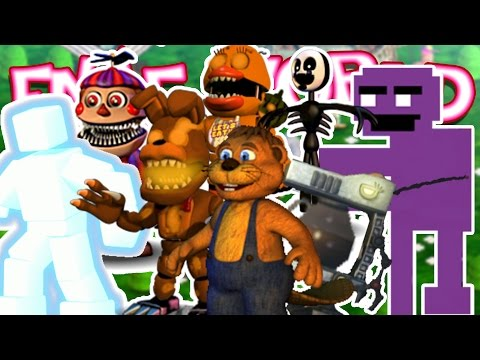 Download Super Op Fixed Party Ep 27 Fnaf World Update 2
