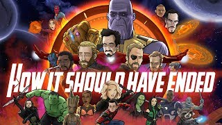 How Avengers Infinity War Should Have Ended - Animated Parody - dooclip.me