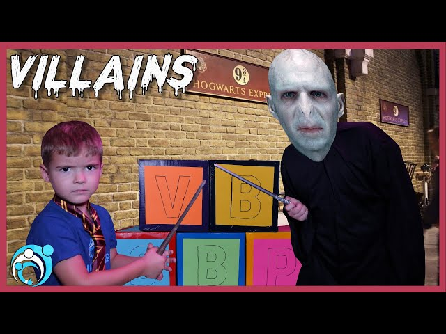 Harry Potter Villain!! Voldemort In Real Life | Thumbs Up Family
