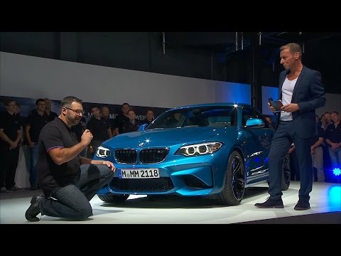 The new BMW M2 Coup. An exclusive glance behind the scenes.