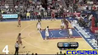 LeBron James Top Ten Plays from the 2010 Season-CGS266