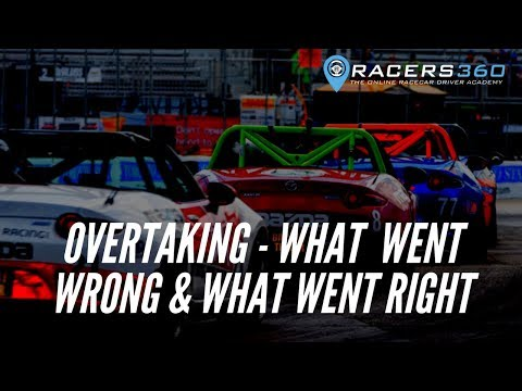 Overtaking - The Right Way & The Wrong Way