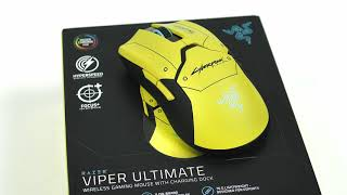 Razer Viper Ultimate Cyberpunk 2077 Edition | Краткий обзор