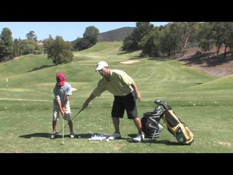 Ballance Drill for Junior Golfers