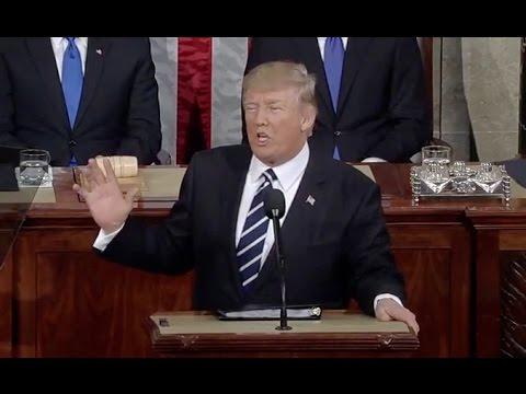 Trump Addresses Congress- Full Speech