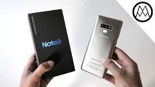 Samsung Galaxy Note9 Unboxing! (Clone)