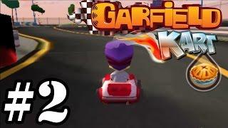 Garfield Kart   Pizza Cup 150cc   Gameplay Walkthrough Part 2 [ 3DS ]