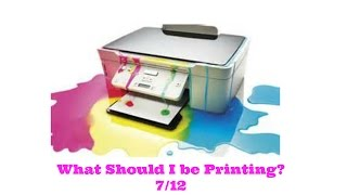 What Should you be Printing on Coupons.com? 7/12/16
