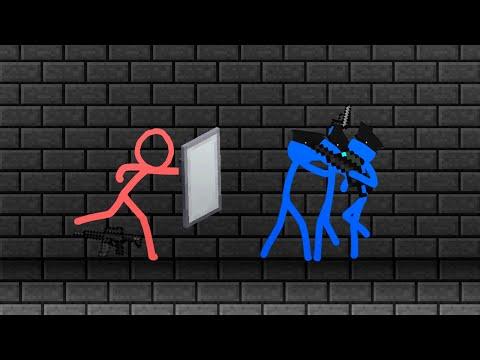 Animation vs. Minecraft Shorts Season 1 - All Episodes (1-14)