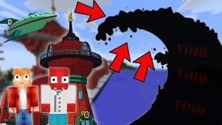 FUTURAMA SVĚT VS VOID TSUNAMI - Minecraft Challenge w/ Vendali