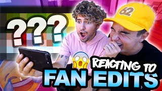 REACTING TO FAN EDITS (HILARIOUS)