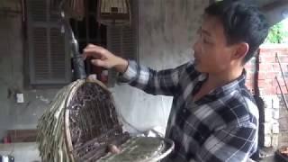 Tới thăm nhà nghệ nhân làm lồng chim cu gáy Văn Sóc - Thủy Nguyên - Hải Phòng