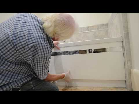 Bath Panel fitting - the DIY way to fit an MDF front panel