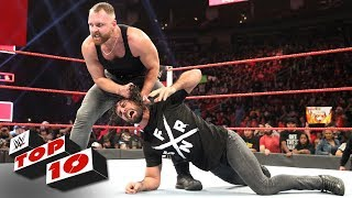 Top 10 Raw moments: WWE Top 10, December 3, 2018