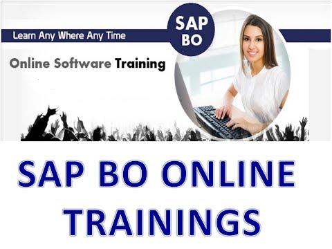 SAP BO 4.2 Training Videos - SAP BO Tutorial for Beginners ...