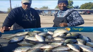 Crappie fishing winter(EPIC TRIP) Did we catch too many