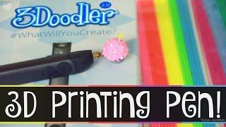 3Doodler 2.0 Tutorial, Demo, & Review | SoCraftastic