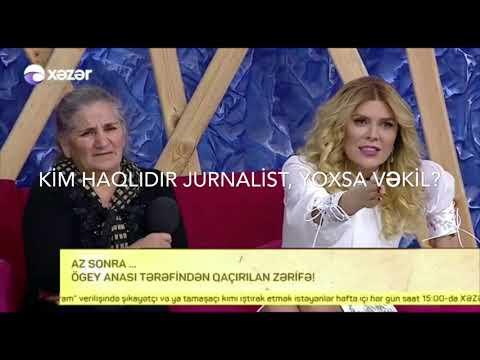 Jurnalist vəkil Şəfiqə Nağıyevaya əsl hüquq dərsi keçdi