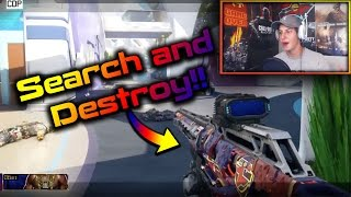 BO3 More Search and Destroy Sniping w/ New FaZe Camo!! (Black Ops 3 SnD)