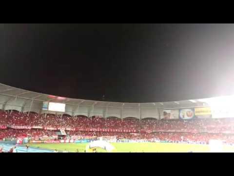 """América vs Real Cartagena"" Barra: Baron Rojo Sur • Club: América de Cáli"