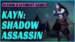 Rank Up With Kayn - Season 8 Shadow Assassin Jungle Guide
