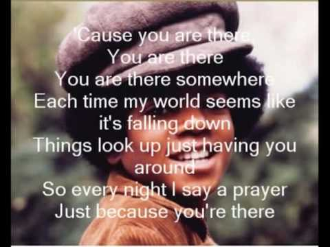 Michael Jackson - You are there with lyrics