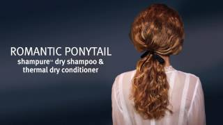 Aveda Get the Look | Shampure Dry Shampoo & Conditioner Romantic Ponytail