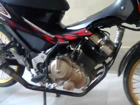 Video Modifikasi satria f 150 Sederhana