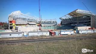 Mosaic Stadium: 3 Years in Under 100 Seconds