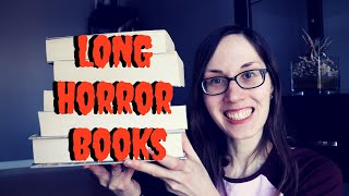 Long Horror Books To Read | #horrorbooks #socialdistancing #selfisolation