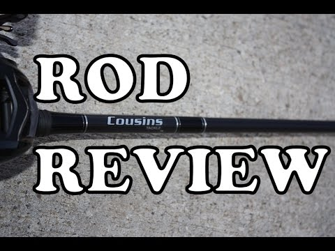 Cousins IM-8 Graphite Series Casting Rod Review (+On The Water Footage)