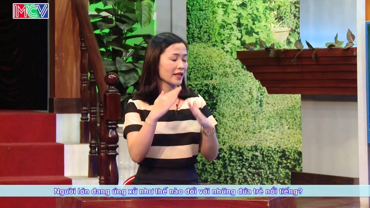 Khi trẻ em nổi tiếng sau một đêm - ThS. Nguyễn Thị Trang Nhung | ĐTMN 270416