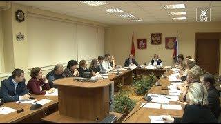Состоялось пленарное заседание Общественной палаты Воскресенского района