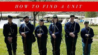 How To Find A Reenacting Unit