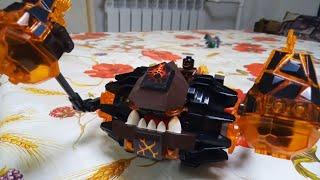 Обзор конструктора LEGO 70313 Лавинный разрушитель Молтора