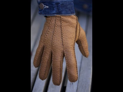 Lederhandschuhe - Manufacturing Process of Leather Gloves in Transylvania Romania