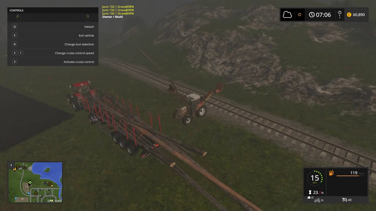 Farming Simulator 17, My-Play , Goldcrest Valley, Logs  are getting longer, E13P2