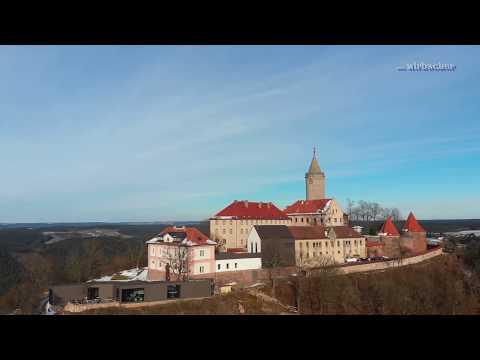 Die Leuchtenburg bei Seitenroda / Kahla in Thüringen