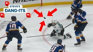 NHL Worst Plays of The Week: How's That Not A Hand Pass!? | Steve's Dang Its